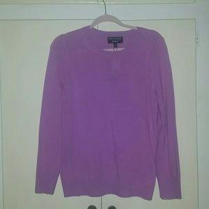 Banana Republic pullover sweater purple M,  NWT